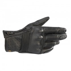 Rayburn V2  Leather Gloves Black