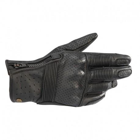Rayburn V2  Leather Gloves Black
