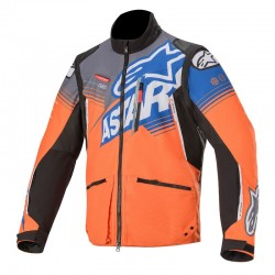 Venture R Jacket Orange-Gry-Blue