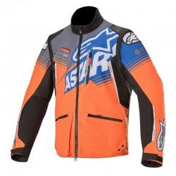 Venture R Jacket Orange-Gry-Blue