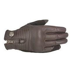 Rayburn V2  Leather Gloves Tobacco Brown
