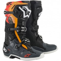 Tech 10 New Black Gray Orange Red fl