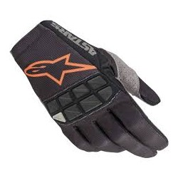 Racefend Gloves Black Orange