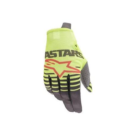 Youth Radar Gloves YellowFluo-Antracite