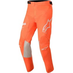 Youth Racer Tech Pants Orange Fl Wht Blue
