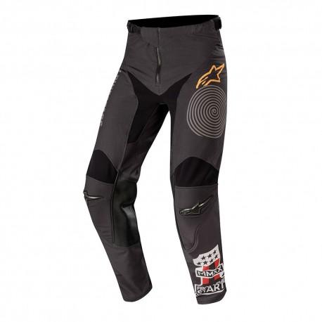 Racer Tech Flagship Pants Black Dark-Gray