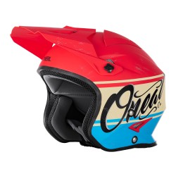 Slat Helmet VX1 Red-Blue