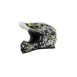 3SRS Helmet ATTACK 2.0 Black/Neon Yellow
