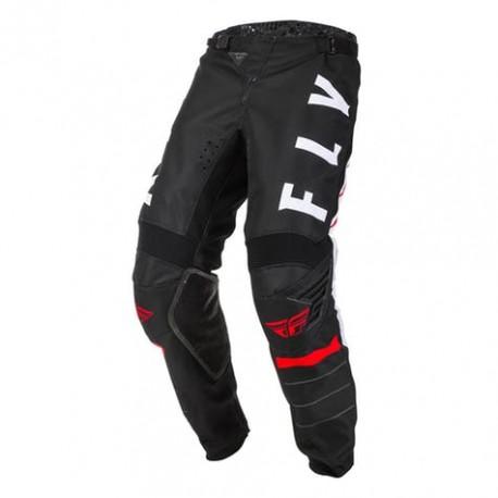 Pantaloni Cross Kinetic Nero Bianco Rosso