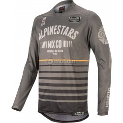 racer Tech Flagship Jersey Dark Gray-Black Orange