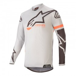 Racer Tech Compass Jersey LightGray-Black