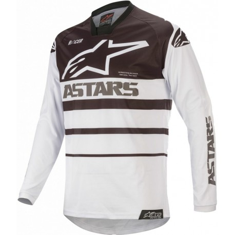 Racer Supermatic Jersey White-Black