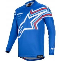 Racer Braap Jersey Blue-Off White