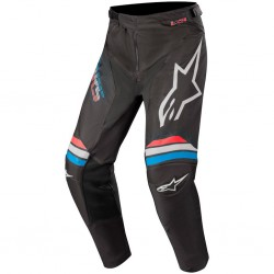 Racer Braap Pants Black-Light Gray