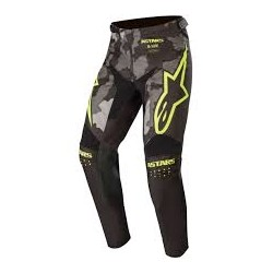 Racer Tactical Pants  Black-Gray Camo-Yellow