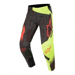 Techstar Factory Pants Black-Yellow-Red