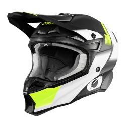 10SERIES Hyperlite Helmet Blur Black Neon Yellow