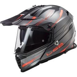 MX436 Pioneer Evo Knight Titanium Orange
