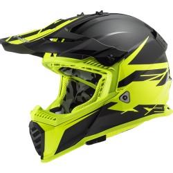 MX437 Fast Evo Roar Matt Black Yellow