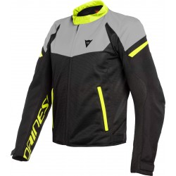 Bora Air Tex Jacket Black Magnesio Matt Fluo Yellow