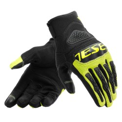 Bora Gloves Black Fluo Yellow