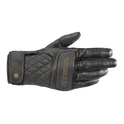 Brass Gloves Black