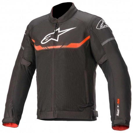 T-SPS Air Jacket Black Red Fluo