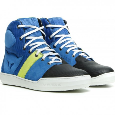 York Air Shoes Performance Blue Fluo Yellow