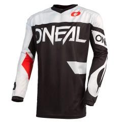 Element Jersey Racewear Black White