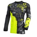 Element  Jersey Ride Black Neon Yellow