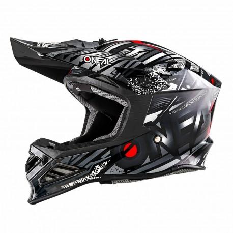 8SRS Helmet synthy black