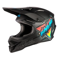 3SRS Helmet Speedmetal Black Multi