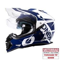 Sierra 2 Helmet R Blue White
