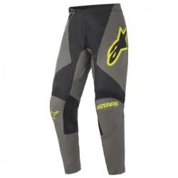 Fluid Speed Pants Dark Grey Yellow Fl