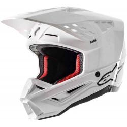 S-M5 Compass Helmet Ece White Glossy