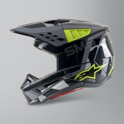 S-M5 Rover Helmet Ece Ant Ye Fl Gy Ca