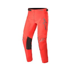 Youth Recer Compass Pants Red fluo Antracite