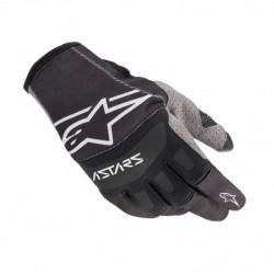 Techstar Gloves Black White