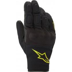 S Max Drystar Gloves Black Yellow Fl