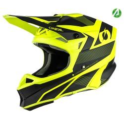 10SRS Hyperlite Helmet Compact Black Neon Yellow