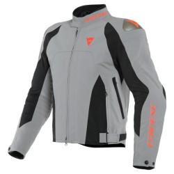 Indomita D-Dry XT Jacket Frost Grey Black Matt Fluo Red