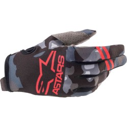 Youth Radar Gray Camo Red Fluo