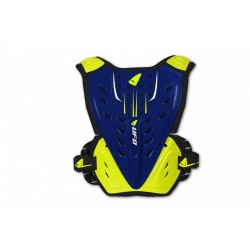 PETTORINA MOTOCROSS REACTOR 2 EVOLUTION BLU E GIALLO FLUO