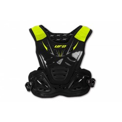 PETTORINA MOTOCROSS REACTOR 2 EVOLUTION NERO E GIALLO FLUO