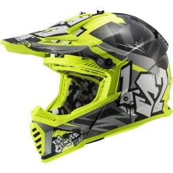 MX437 Fast Evo Crusher Black Yellow