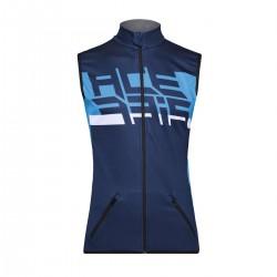 Gilet Softshell X-Wind Blu
