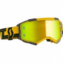 Fury Yellow Black yellow Chrome Lens