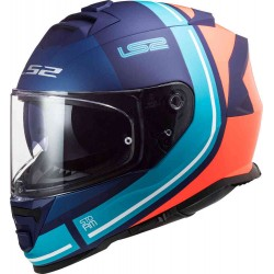 F800 Storm Slant Matt Blue Fluo Orange