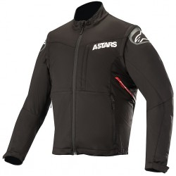 Session Race Jacket Black