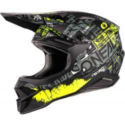 3SRS Helmet Ride Black-Neon Yellow